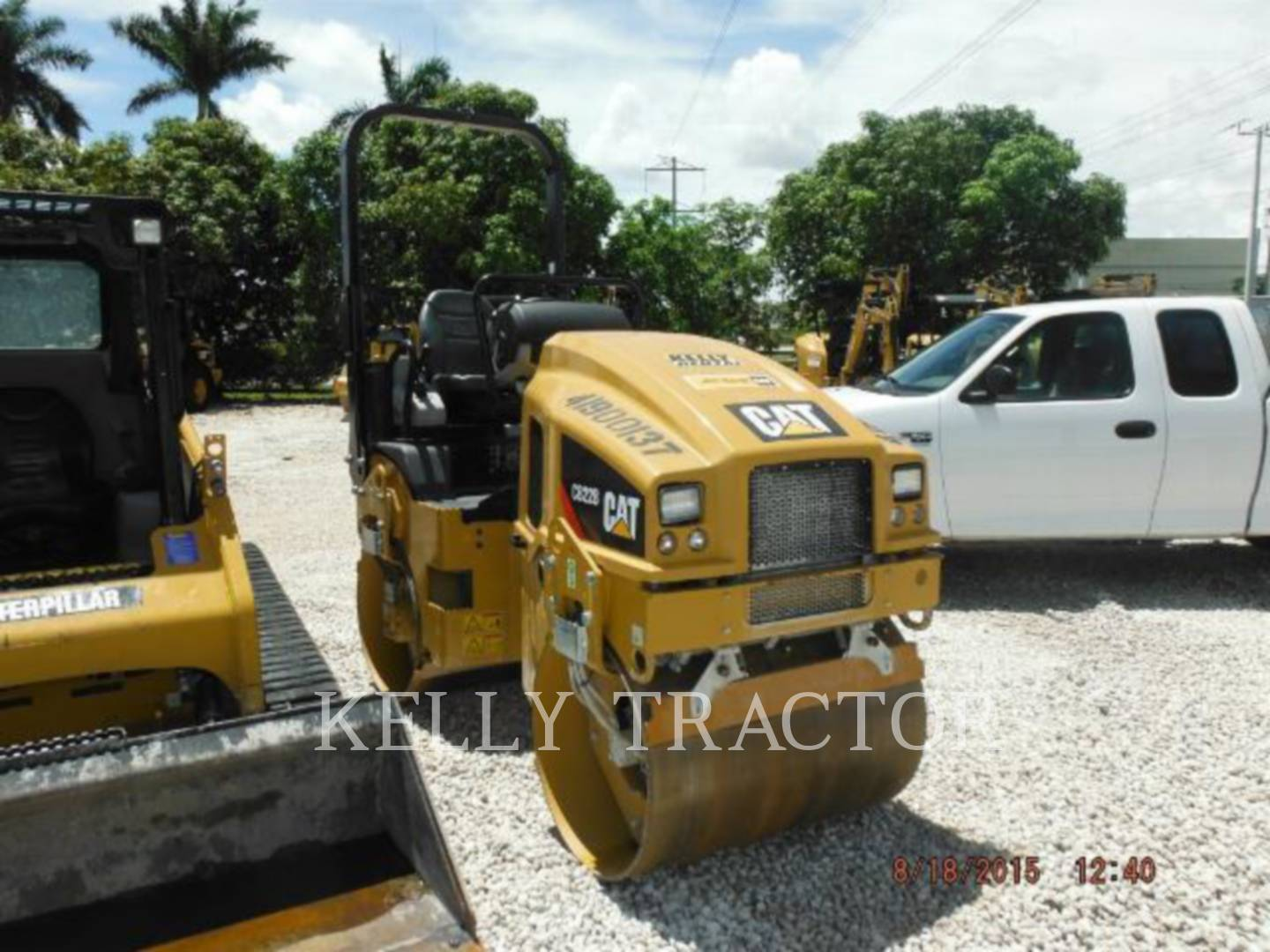 Detail photo of 2014 Caterpillar CB22B from Construction Equipment Guide