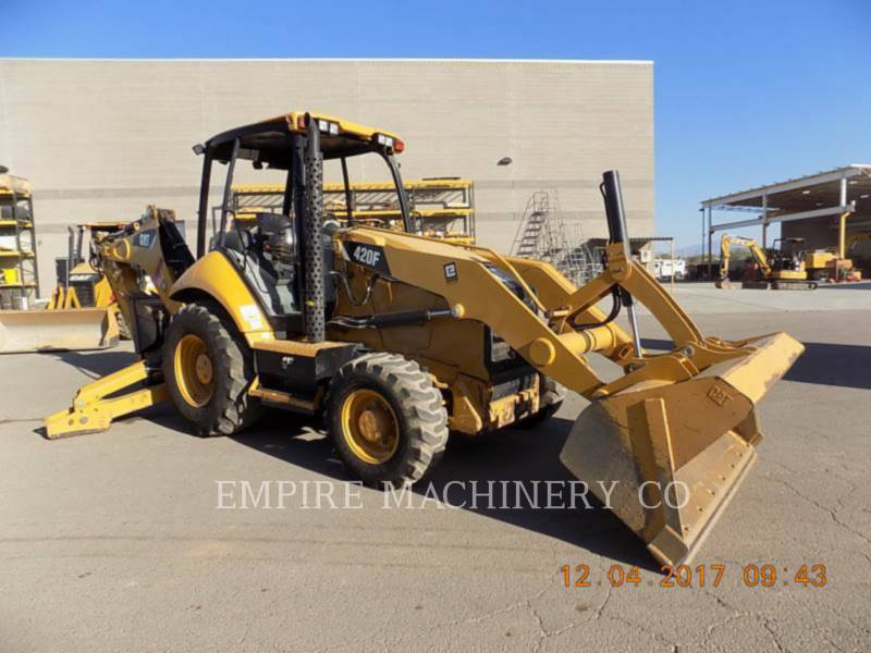 CATERPILLAR CHARGEUSES-PELLETEUSES 420F 4EO equipment  photo 1