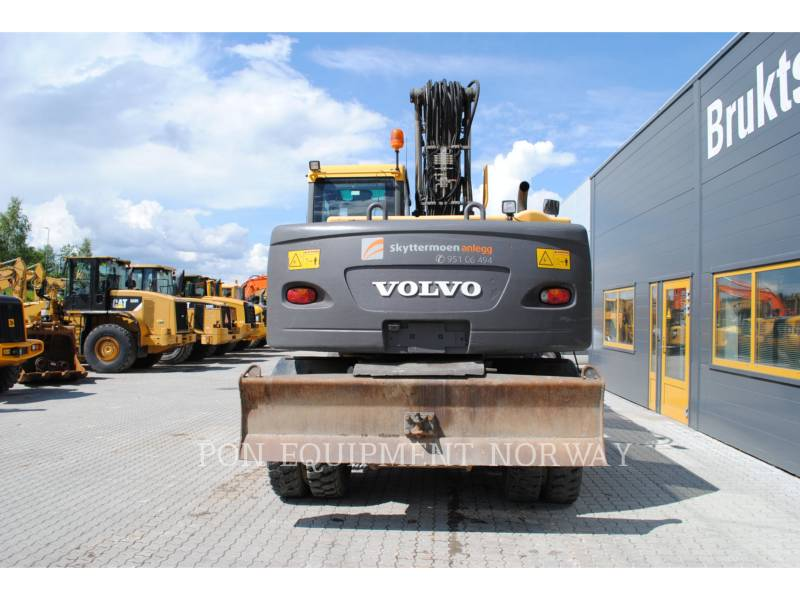 VOLVO CONSTRUCTION EQUIP BRASIL WHEEL EXCAVATORS EW 160 C equipment  photo 16