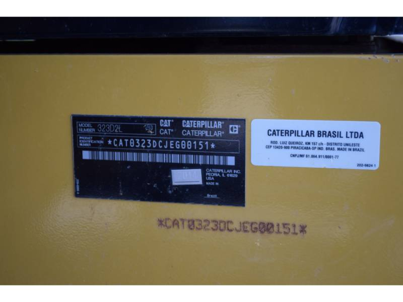 CATERPILLAR トラック油圧ショベル 323D2 equipment  photo 5