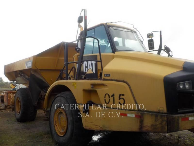 CATERPILLAR CAMIONES ARTICULADOS 735B equipment  photo 2