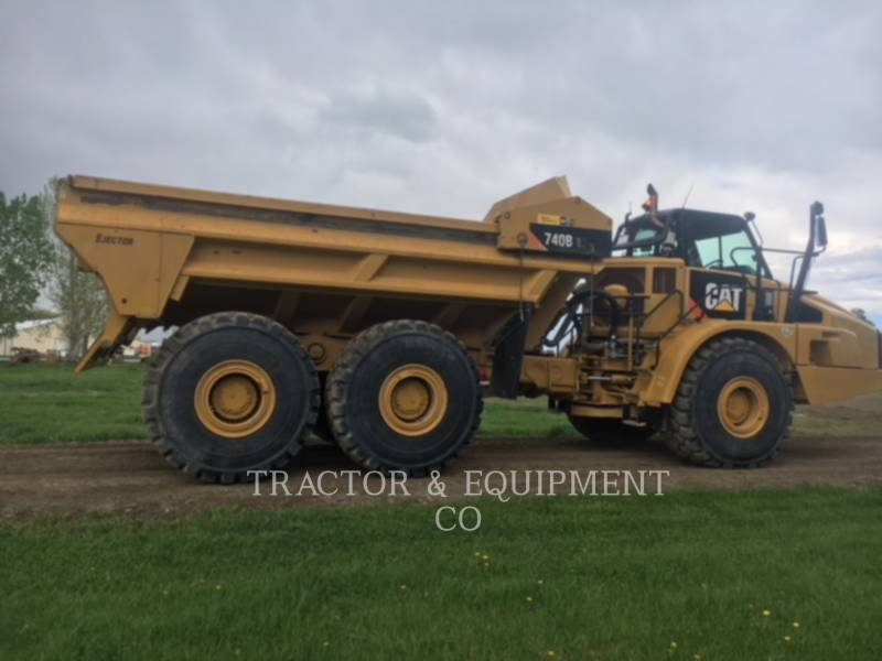 Caterpillar CAMIOANE ARTICULATE 740BEJ equipment  photo 10