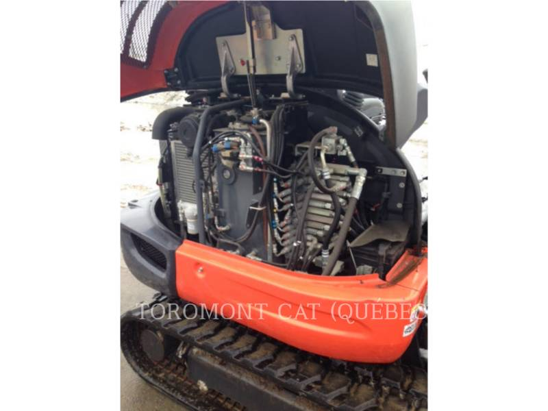 KUBOTA CORPORATION PELLES SUR CHAINES KX040-4 equipment  photo 9