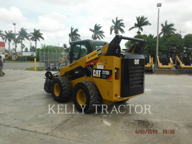 CATERPILLAR SKID STEER LOADERS 272D2XHP equipment  photo 3