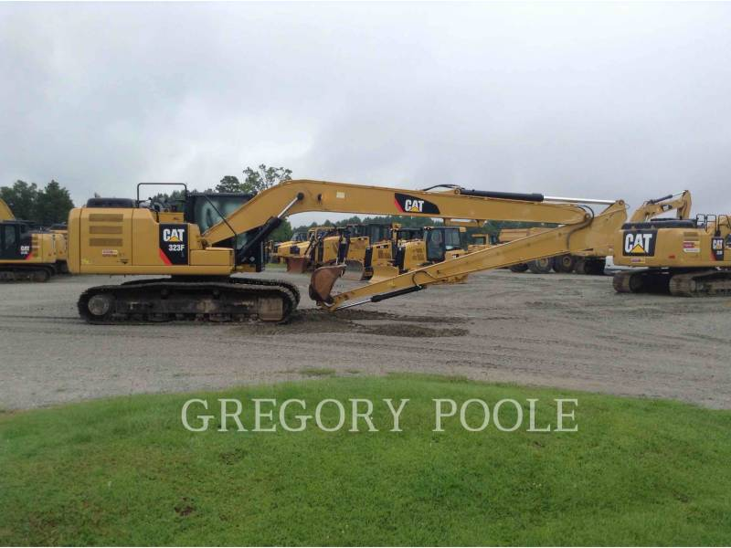 CATERPILLAR TRACK EXCAVATORS 323F L equipment  photo 8