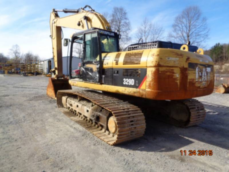 CATERPILLAR KETTEN-HYDRAULIKBAGGER 329DL equipment  photo 4