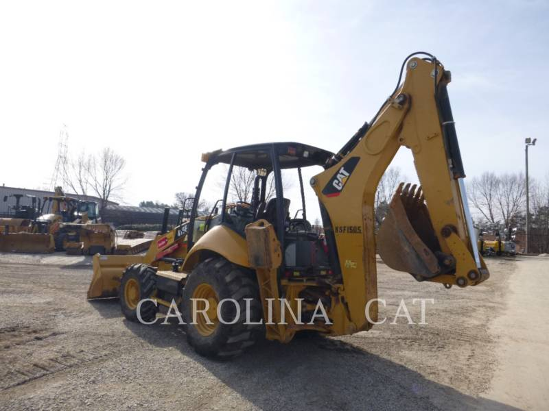 CATERPILLAR CHARGEUSES-PELLETEUSES 416F ST equipment  photo 3