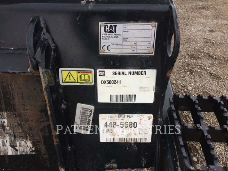 CATERPILLAR WT - BALAI BP115C equipment  photo 5