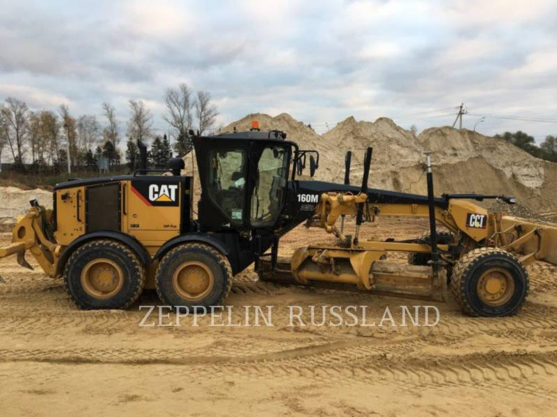CATERPILLAR MOTOR GRADERS 160 M VHP PLUS equipment  photo 1