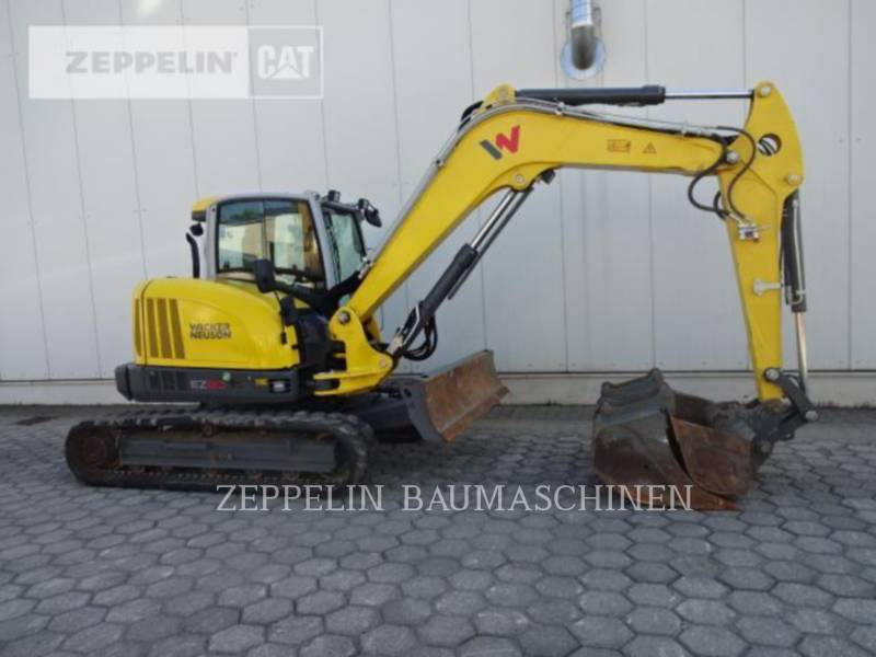 WACKER CORPORATION KETTEN-HYDRAULIKBAGGER EZ80 equipment  photo 8