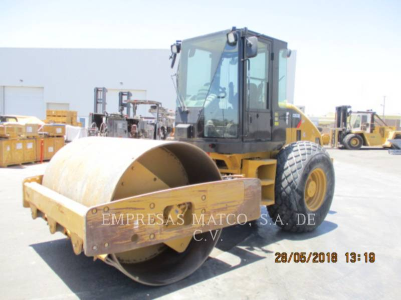 CATERPILLAR EINZELVIBRATIONSWALZE, GLATTBANDAGE CS-533E equipment  photo 6