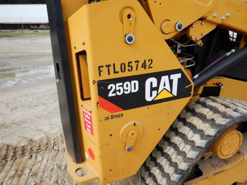 CATERPILLAR DELTALADER 259D equipment  photo 20