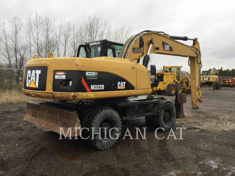 CATERPILLAR EXCAVADORAS DE RUEDAS M322D equipment  photo 3