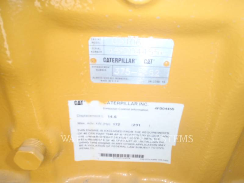 CATERPILLAR STATIONARY GENERATOR SETS G3406NA equipment  photo 6
