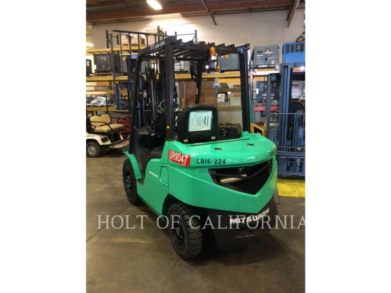 MITSUBISHI FORKLIFTS FORKLIFTS FD30N equipment  photo 4