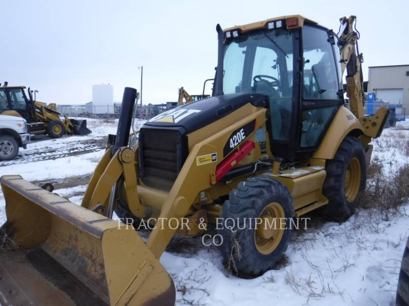 CATERPILLAR CHARGEUSES-PELLETEUSES 420EST equipment  photo 1