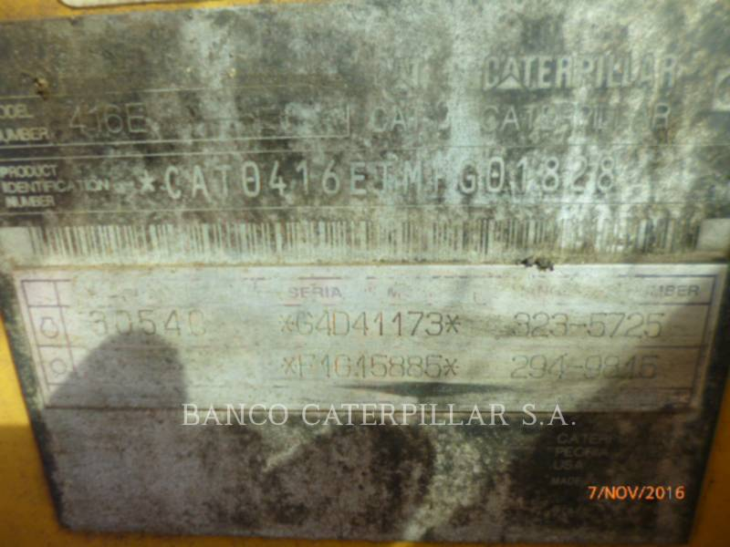 Caterpillar BULDOEXCAVATOARE 416EST equipment  photo 5