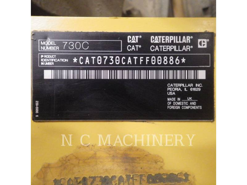 CATERPILLAR WOZIDŁA PRZEGUBOWE 730C equipment  photo 6