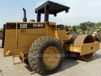 CATERPILLAR VIBRATORY SINGLE DRUM SMOOTH CS-563CAW equipment  photo 5