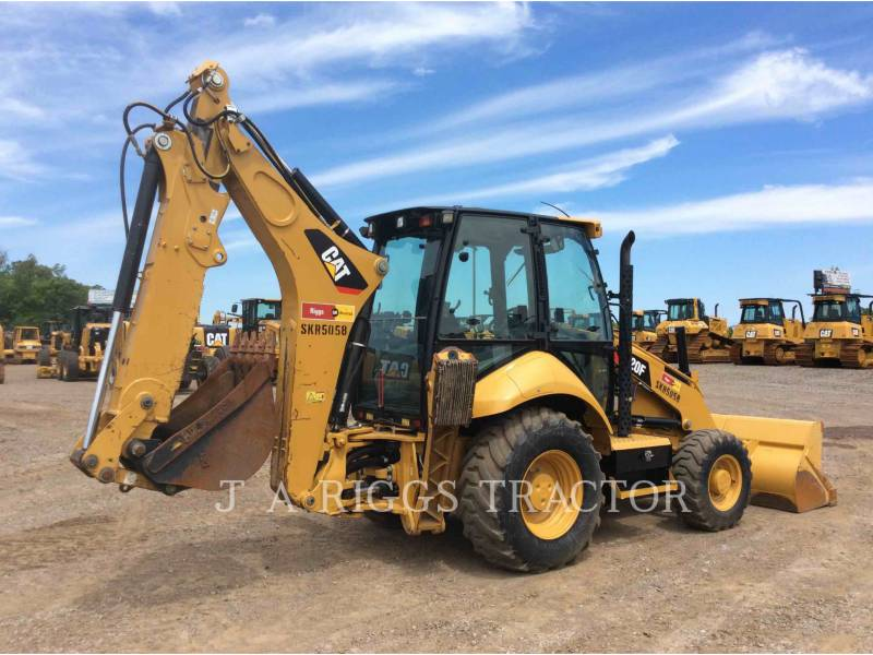 CATERPILLAR BACKHOE LOADERS 420F 4AE equipment  photo 3