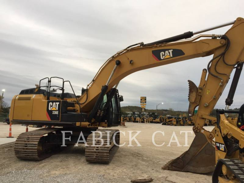 CATERPILLAR KETTEN-HYDRAULIKBAGGER 336E equipment  photo 1