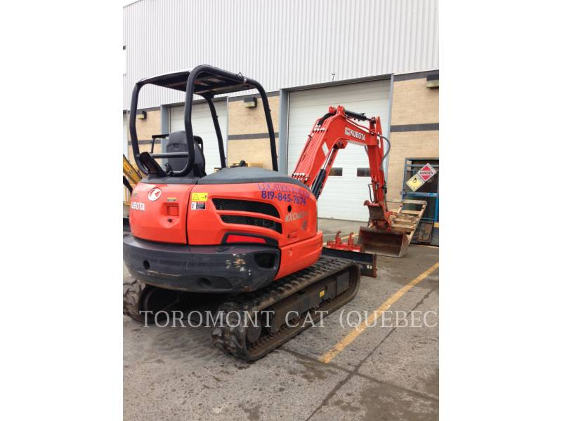 KUBOTA CORPORATION PELLES SUR CHAINES KX040-4 equipment  photo 1