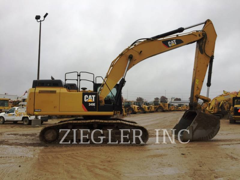 CATERPILLAR TRACK EXCAVATORS 349EVG equipment  photo 3