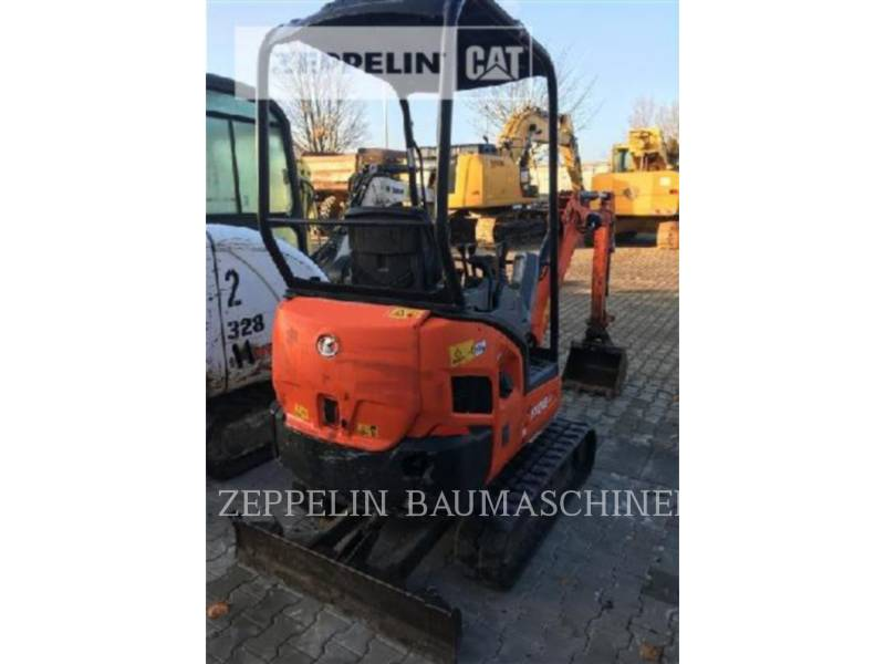 KUBOTA CORPORATION KOPARKI GĄSIENICOWE KX016-4 equipment  photo 2
