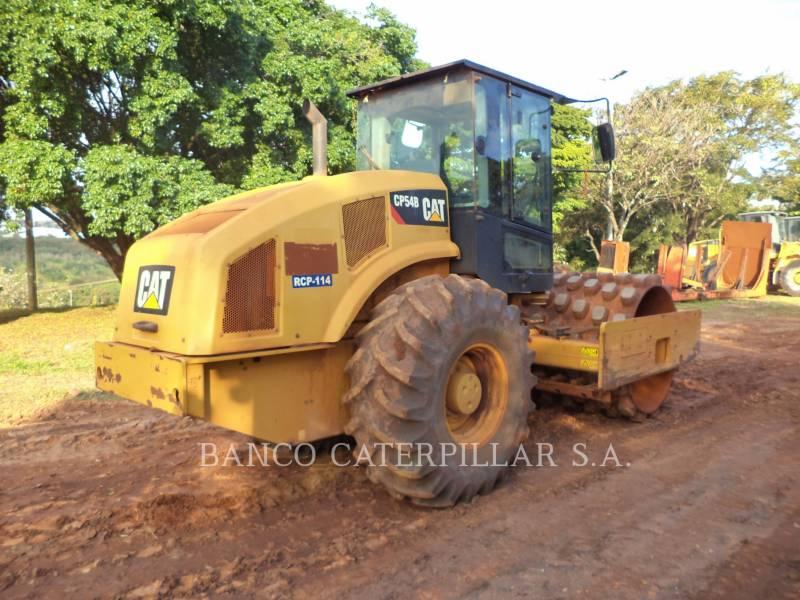 CATERPILLAR SOPORTE DE TAMBOR ÚNICO VIBRATORIO CP54B equipment  photo 3