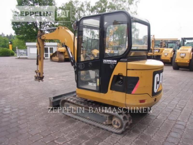 CATERPILLAR TRACK EXCAVATORS 302.5C equipment  photo 1