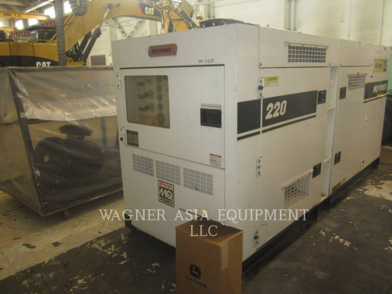 MULTIQUIP STATIONARY GENERATOR SETS DCA-220SSJU equipment  photo 13