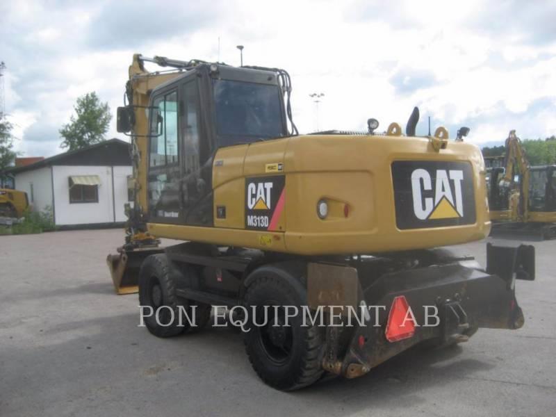 CATERPILLAR ESCAVADEIRAS DE RODAS M 313 D equipment  photo 5