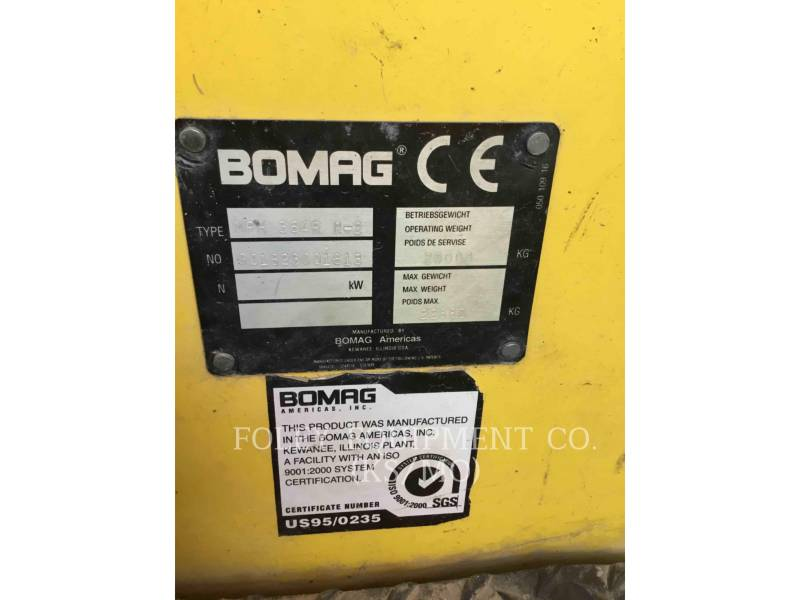 BOMAG STABILIZERS / RECLAIMERS MPH364R-2 equipment  photo 6