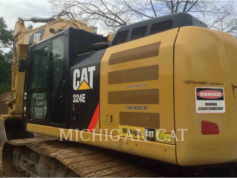 CATERPILLAR TRACK EXCAVATORS 324EL P equipment  photo 12