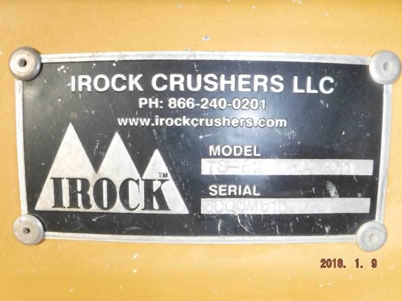 IROCK CRUSHERS SIEBE TS516 equipment  photo 20