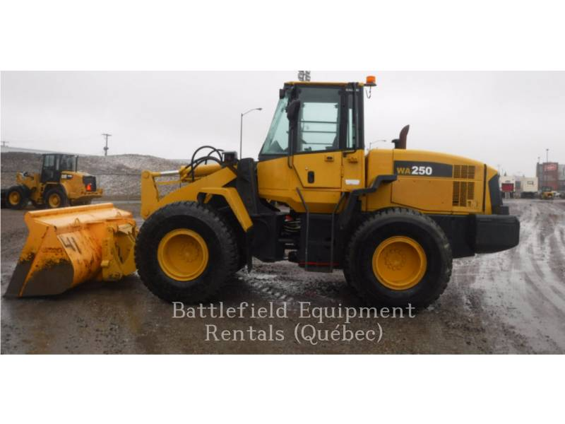 KOMATSU CARGADORES DE RUEDAS WA250 equipment  photo 2