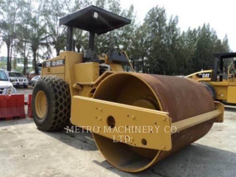 CATERPILLAR VIBRATORY SINGLE DRUM SMOOTH CS-563CAW equipment  photo 4