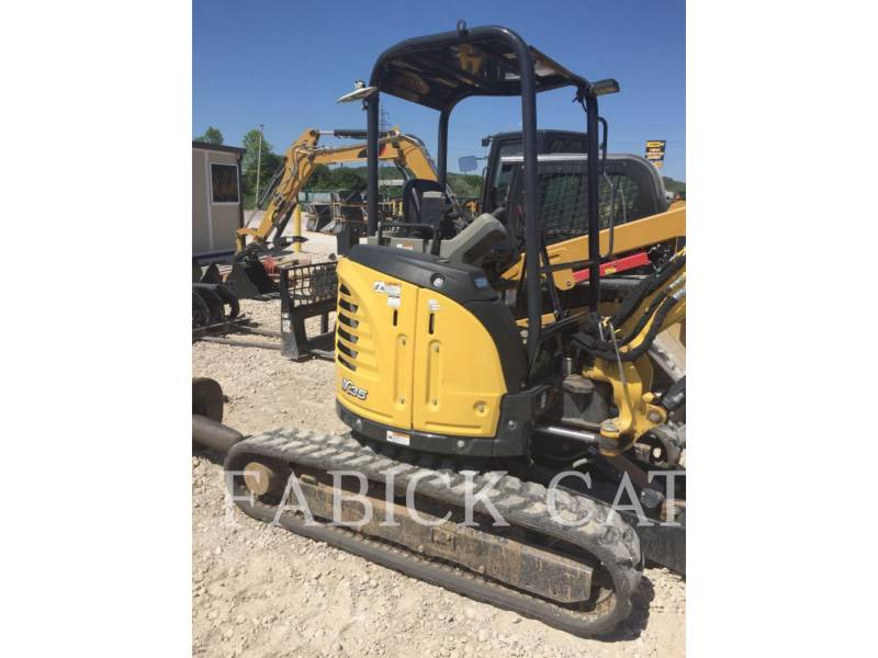 YANMAR TRACK EXCAVATORS VIO35 equipment  photo 1