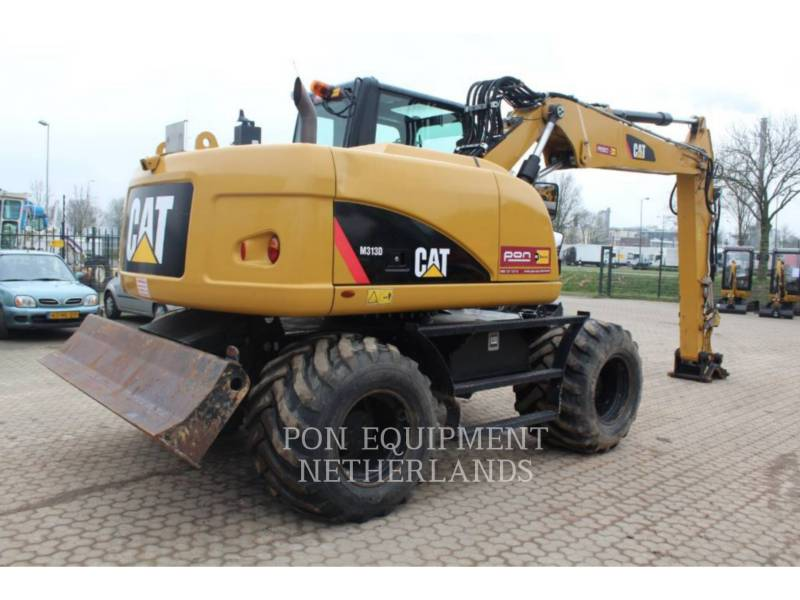 CATERPILLAR EXCAVADORAS DE RUEDAS M313 D equipment  photo 4