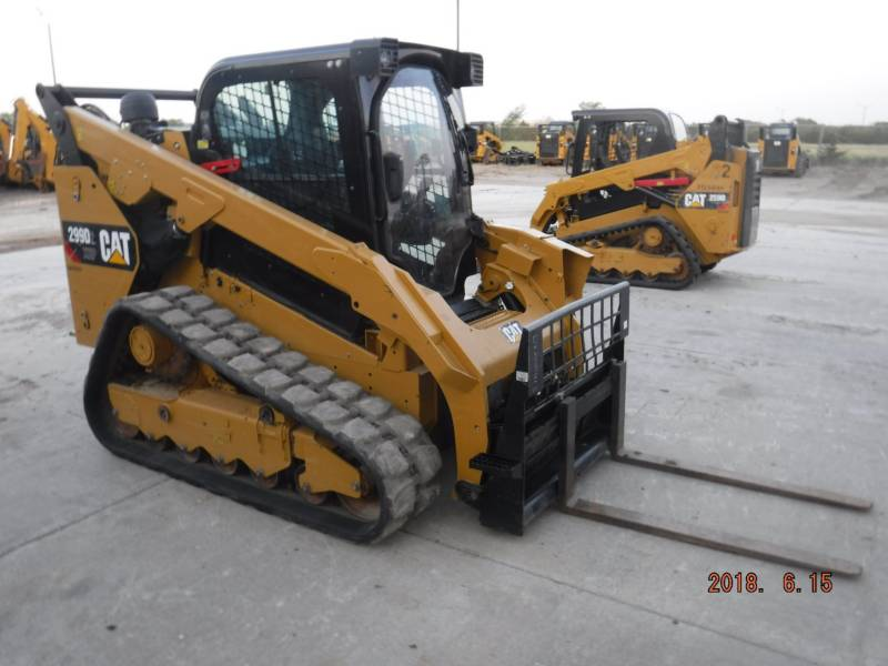 Caterpillar ÎNCĂRCĂTOARE PENTRU TEREN ACCIDENTAT 299D2XHP equipment  photo 3