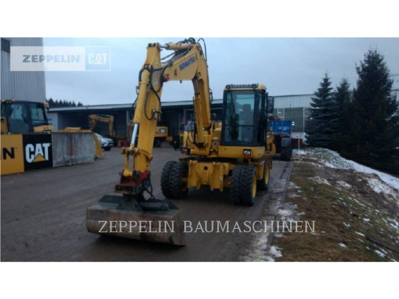 KOMATSU LTD. WHEEL EXCAVATORS PW98MR equipment  photo 7