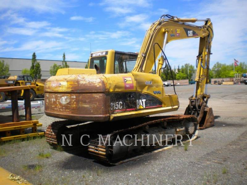 CATERPILLAR KETTEN-HYDRAULIKBAGGER 315C L equipment  photo 2