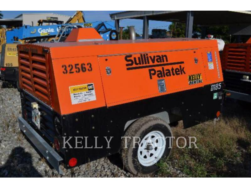 SULLIVAN AIR COMPRESSOR D185P equipment  photo 1