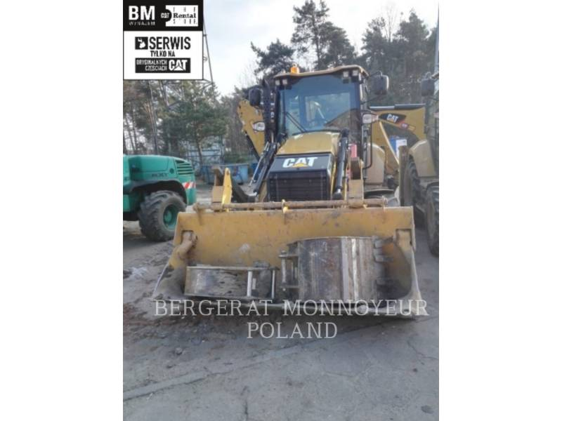 CATERPILLAR CHARGEUSES-PELLETEUSES 432 F 2 equipment  photo 1