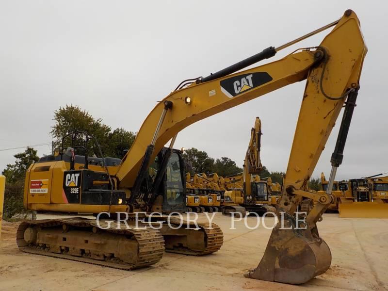 CATERPILLAR TRACK EXCAVATORS 329E L equipment  photo 4