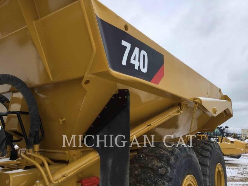 CATERPILLAR TOMBEREAUX ARTICULÉS 740 T equipment  photo 15