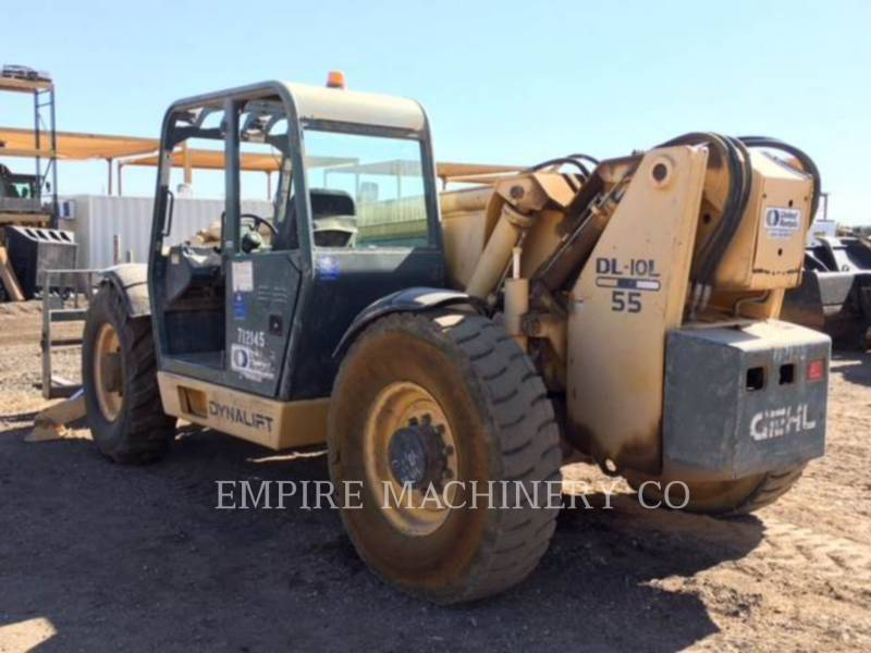 GEHL COMPANY TELEHANDLER DL10L55 equipment  photo 3
