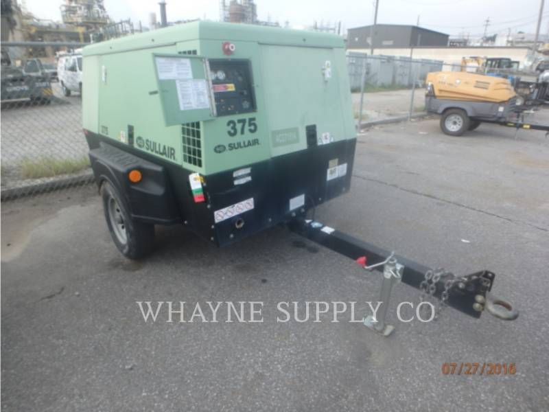 SULLAIR AIR COMPRESSOR 375CFM equipment  photo 2