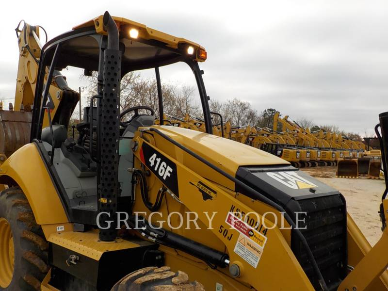CATERPILLAR BACKHOE LOADERS 416F equipment  photo 4