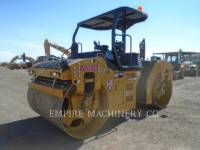 CATERPILLAR VIBRATORY DOUBLE DRUM ASPHALT CB66B equipment  photo 5